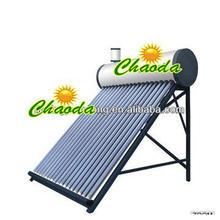58*1800-vacuum-tube non-pressure solar water heater for 3-4 persons