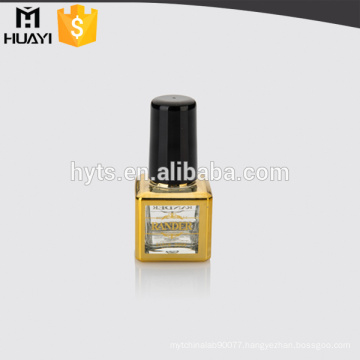 empty uv gel nail polish bottle with plastic cap