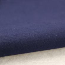 21x21 + 70D / 140x74 264gsm 144cm tiefes Meer blaues doppeltes Baumwollausdehnungs-Köper 2 / 2S Hemd-Spandexgewebeausdehnungsbandagegewebe
