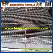 Malha de arame comprimido para malha de tela de peneira de mineração