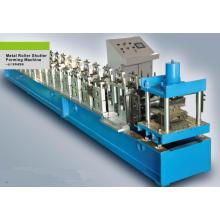 O sistema de controlo da freqüência do PLC com as portas do obturador do metal da tela de toque lamina a formação da máquina