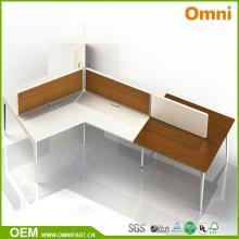 2017 Nueva tabla moderna de la oficina de la venta caliente