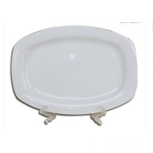 ceramic square plate white porcelain