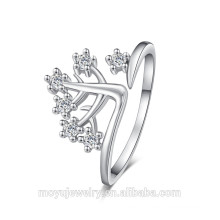 New arrival magnetic bit ring silver ring jewelry