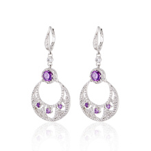 Exquisite Women Earring French Clip Dangle Earrings
