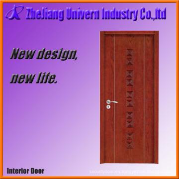 Puerta de gabinete de cocina de madera chapada