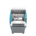 Machine automatique d'étiquettes de logo de tissu liquide en caoutchouc