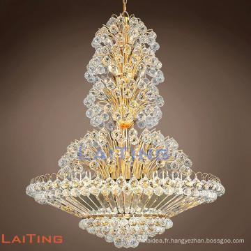 Lustre antique unique lustre en cristal de style français drop