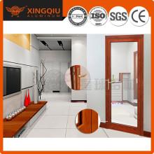 Fabricant professionnel cadres de portes coulissants en aluminium