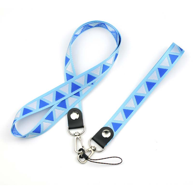 0324High quality branded long lanyards for name card