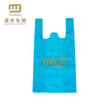 100% Eco Friendly High Quality Custom Design Thank You T Shirt Plastic Bags