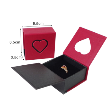 Custom Magnetic Closure Paper Ring Packaging Box