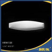 Высококачественная белая фарфоровая тарелка для отеля