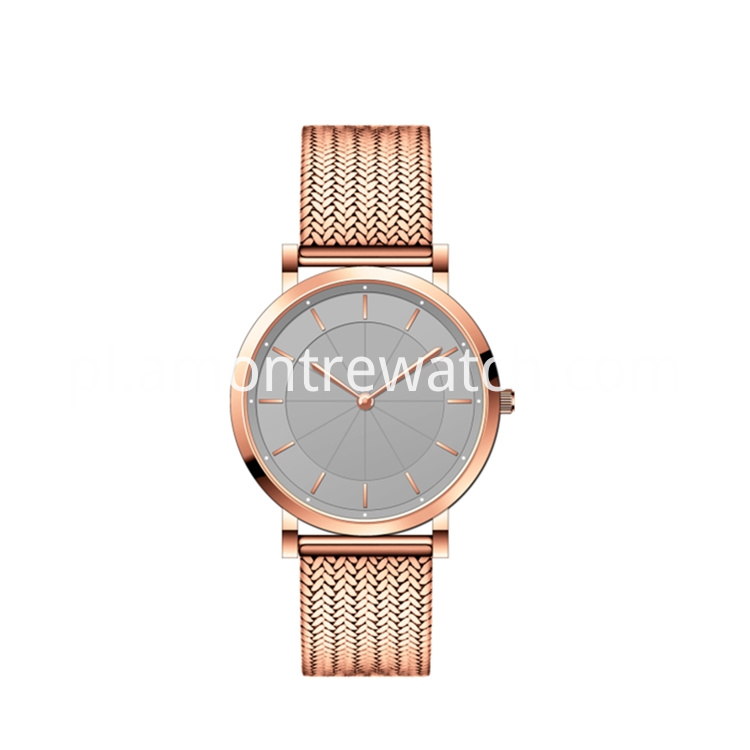 Steel Ultra Slim Watch