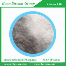 El mejor precio Alta calidad Proceso purificado A prueba de fuego agente 98% min grado técnico monoamonio fosfato