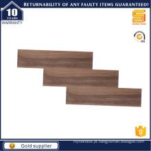 Telha de madeira marrom para o assoalho