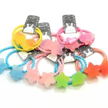 Little Candy Beaded Hair Ties Baby/Infant/Toddler Hair Tie Tiny/Mini/Fine Elastic Hair Band Ponytail Holders Pigtail Holders