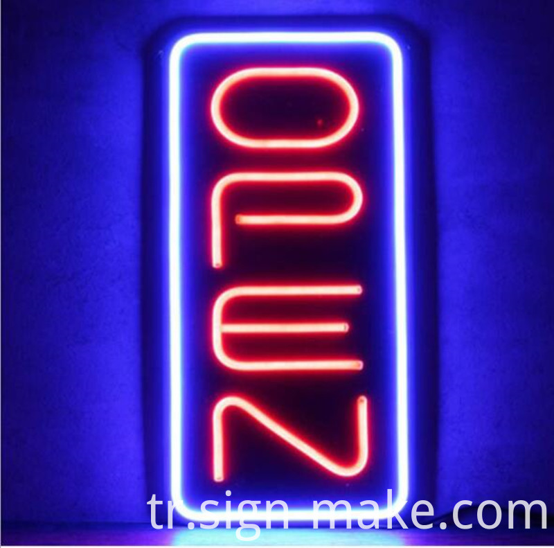Vertical Neon Open Signs For Sale