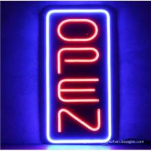 Vertikale Neon-offene Zeichen für Verkauf LED-Zeichen Baord