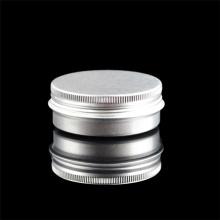 Empty Small Screw Cap Cream Tin Box