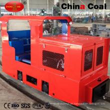 Locomotiva diesel elétrica da mineração subterrânea 5t