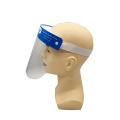 Máscara de proteção facial anti-respingo PET transparente