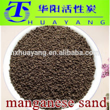 Medios de eliminación de hierro y manganeso 16-30 mallas de arena de manganeso