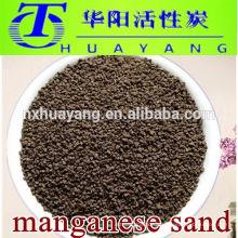 Iron and manganese removal media 16-30 mesh manganese sand