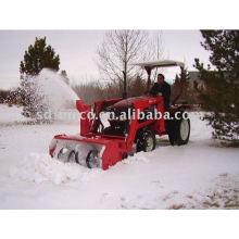 Soprador de neve mini jardim frontal para trator