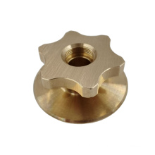 Custom Machining Services Brass Copper Turned CNC Lathe Parts