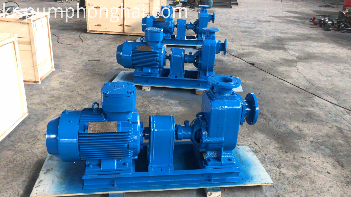 self priming diesel pump