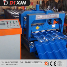 Novel Design of Roof Tile Panel Roll Forming Machine