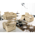 Genuine Leather Chaise Leather Sofa Electric Recliner Sofa (714)