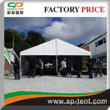 white opened birthday party wedding tent hot sale 20x30m with small white pagoda