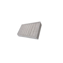 Серый бархат пены ювелирные изделия Непрерывная коробка для звонков (TY-R9P)