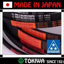 Mitsuboshi Belting RUBBER RUBST RIBSTAR com baixa fricção para triturador, cortador, etc. Fabricado no Japão (com cinto com nervuras)