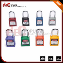 Elecpopular 38mm personalizado de seguridad de plástico candado eléctrico