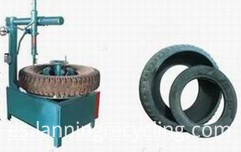single tyre cutting machine 2