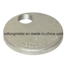 Ductile Eisen 300psi NPT Gewindekappen mit Exzenterloch