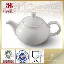 Tetera Grace, juego de té blanco de porcelana