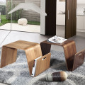 Modern design wooden dining table, plywood coffee table, wooden table for home and office