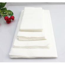 Guardanapo de mesa de algodão com impressão ecológica