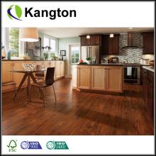 Piso de madera sólida de acacia de hoja pequeña (piso de madera sólida)