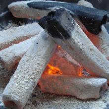 Carvão vegetal feito à máquina Carvão vegetal de Charcoaloak da forma sextavada