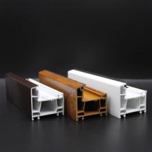 Perfis de portas de janela em PVC com proteção UV