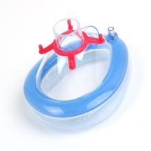 medizinische PVC-Anästhesie-Gesichtsmaske für Erwachsene