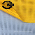respirant doublure de chaussure chemise vêtements 100% polyester cleancool silver ion anti tissu de gaufres bactérien