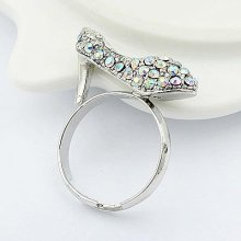High-Heeled Shoes Rings Rhinestone Finger Rings Jewelry FR65