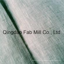 Tissu de lin pur de haute qualité (QF16-2534)