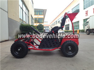 Electric Racing Go Kart